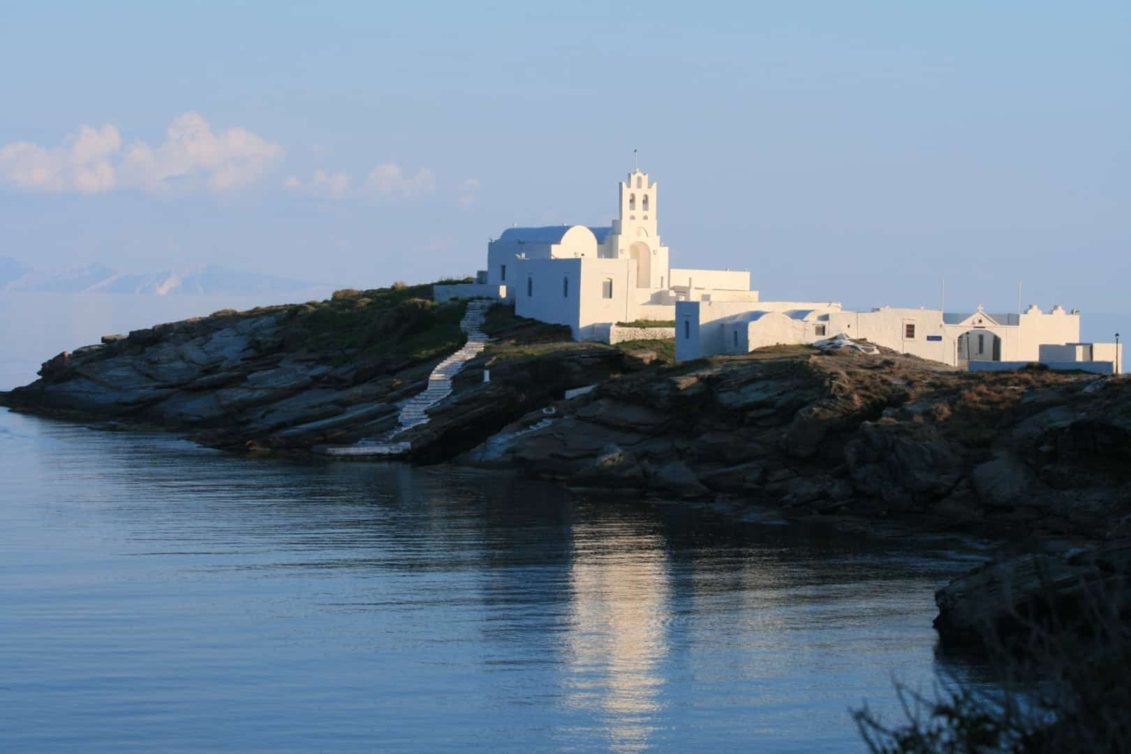 The monastery of Xrysophgh, Sifnos