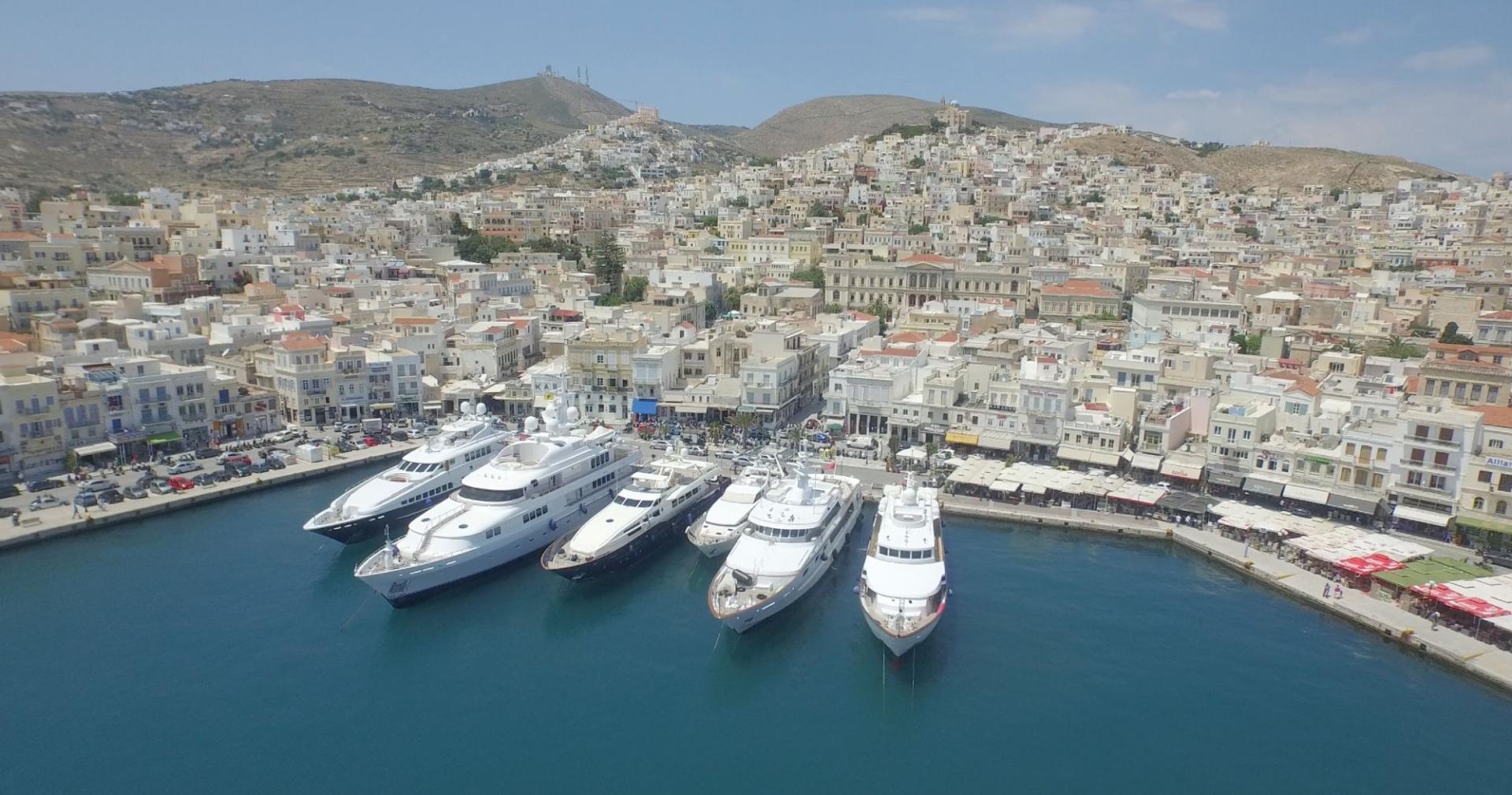 Siros island Cyclades