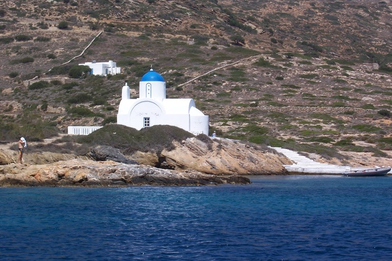 Amorgos - Άγιος Παντελεήμονας