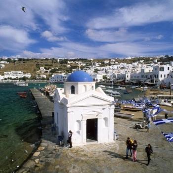 Mykonos - Εκκλησίες στη Χώρα