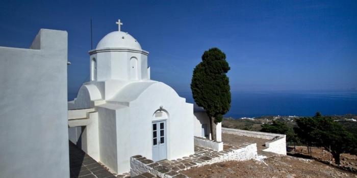 Sifnos - Acropolis of Agios Andreas