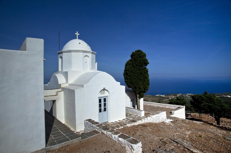 Sifnos - Aκρόπολη Αγίου Ανδρέα