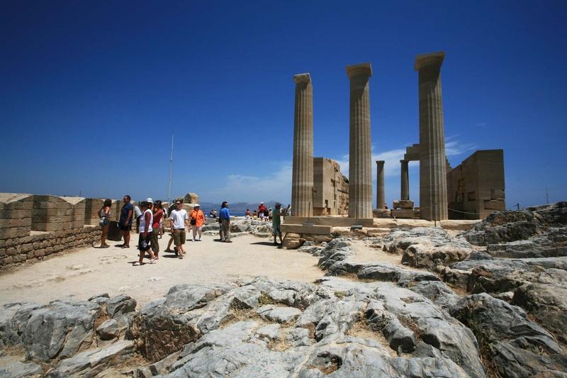 Rhodes - Η Ακρόπολη της Λίνδου