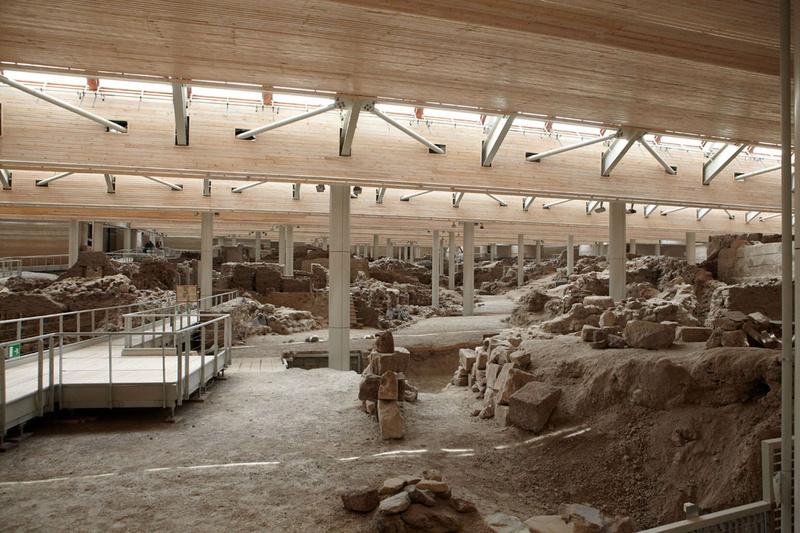 Santorini - Prehistoric settlement of Akrotiri