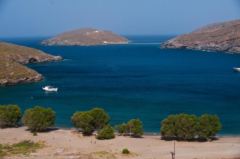 Europe, Greece, Cyclades, Kythnos, beach, Apokrousi