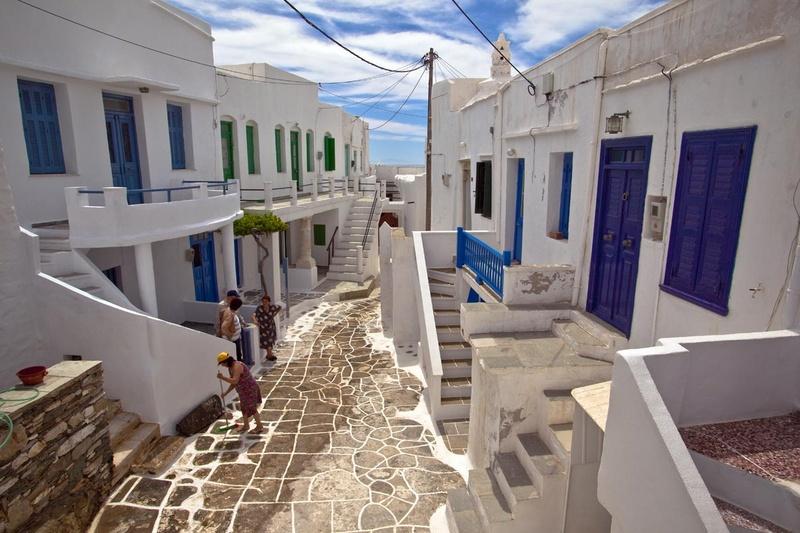 Sifnos - Αρχιτεκτονική