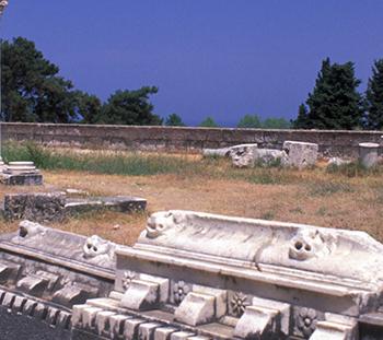 Asklepion ancient siteKos, Dodecanese, Greece©Clairy Moustafellou/IML Image Group