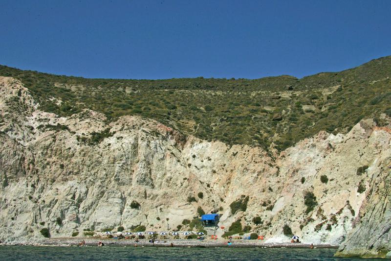Santorini - Άσπρη Παραλία