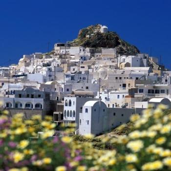 ChoraAnafi, Cyclades, Greece, Europe©Clairy Moustafellou /IML Image Group
