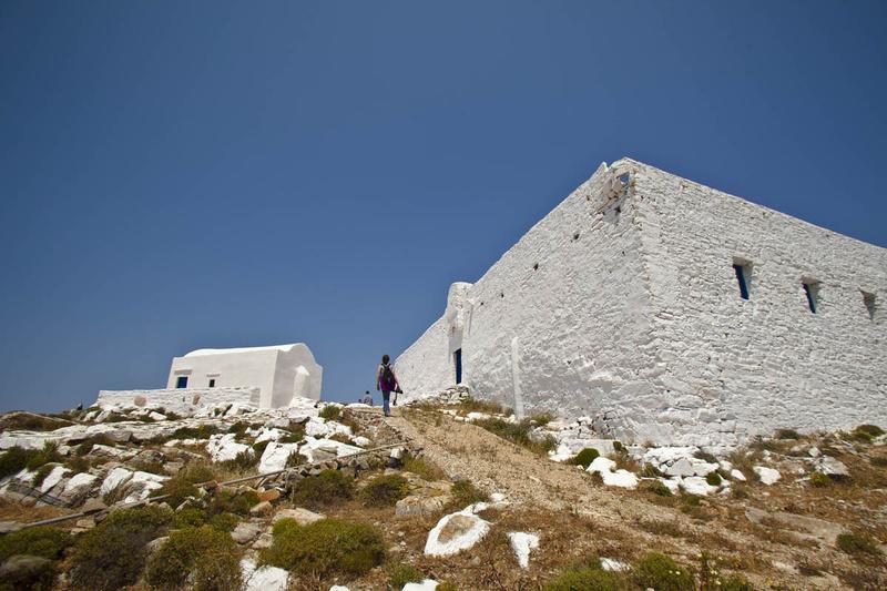 Sikinos - The Monastery of Zoodochos Pigi
