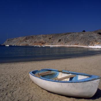 DODECANESE-KALYMNOS ©CLAIRY MOUSTAFELLOU Pserimos isl. Port beach