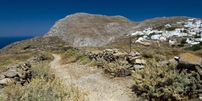 Amorgos - Η τρίπολις Αμοργός