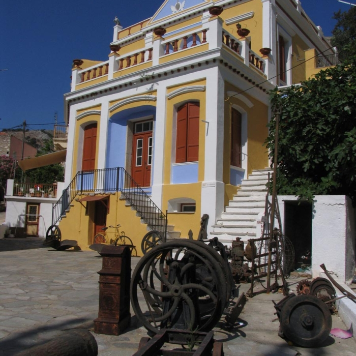 Symi - Nautical museum