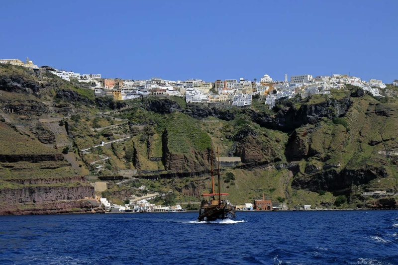 Santorini - By Boat
