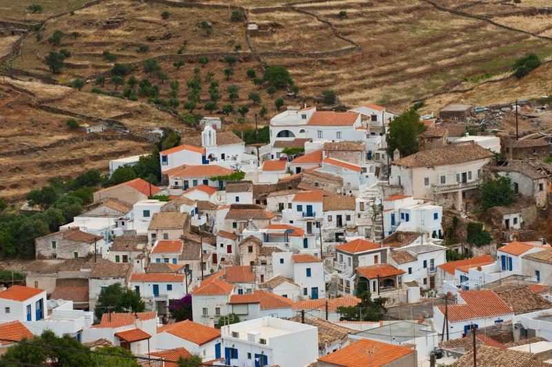 Europe, Greece, Cyclades, Kythnos, Driopida, Galatas