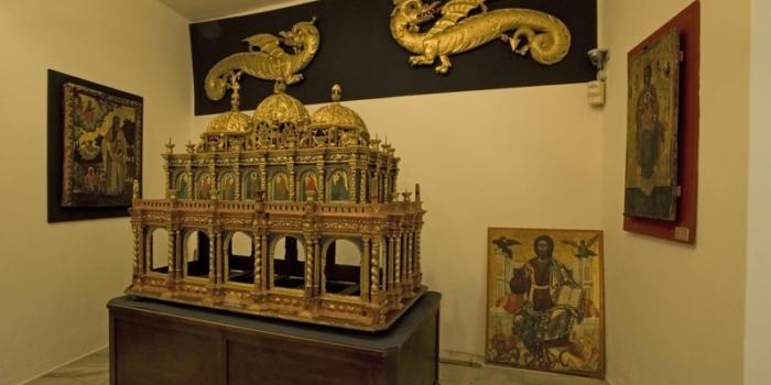 Paros - Βυζαντινό μουσείο Εκατονταπυλιανής