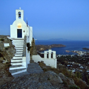 Serifos - Οι εκκλησίες του Kάστρου