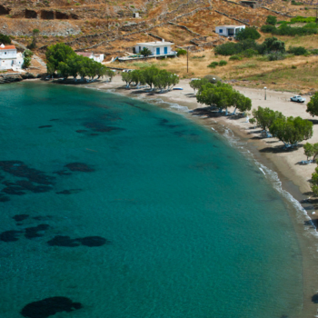 Europe, Greece, Cyclades, Kythnos, beach, Episkopi