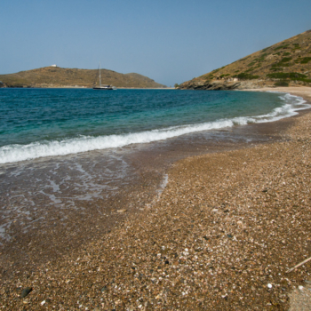 Europe, Greece, Cyclades, Kythnos, beach, Fikiada