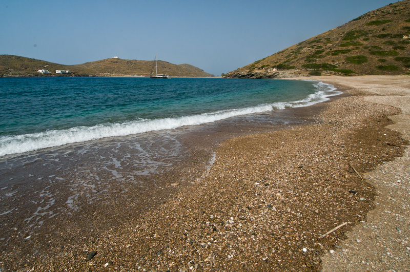 Europe, Greece, Cyclades, Kythnos, beach, Fikiada