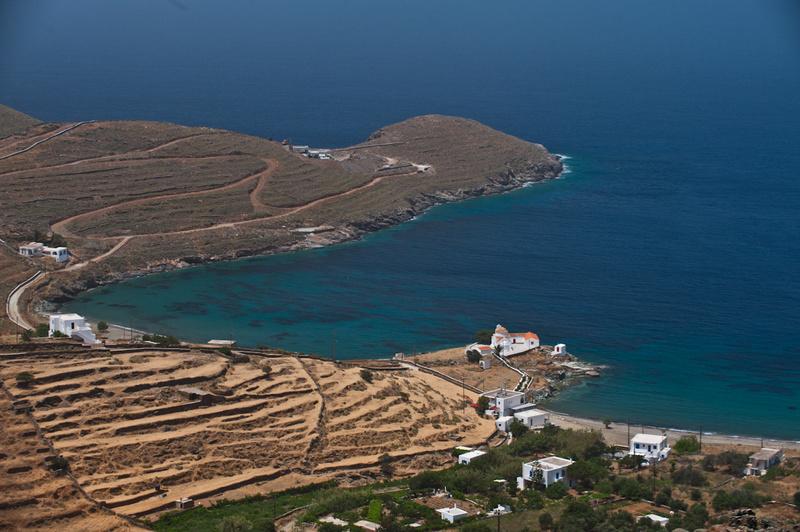 Europe, Greece, Cyclades, Kythnos, beach, Flabouria