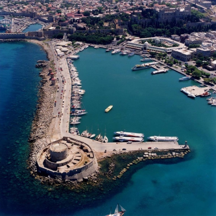 Rhodes - The fortress of Agios Nikolaos (Saint Nicholas)