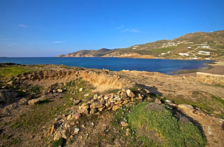 The Neolithic settlement of Ftelia, Mykonos