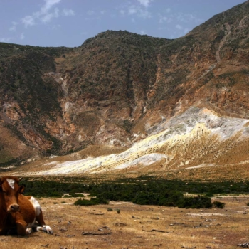 Nisyros - The volcano