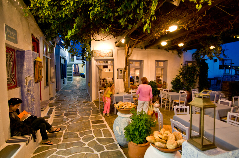 Europe, Greece, Cyclades, Kythnos, Hora