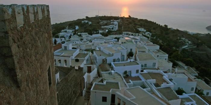 Patmos - Αρχιτεκτονική