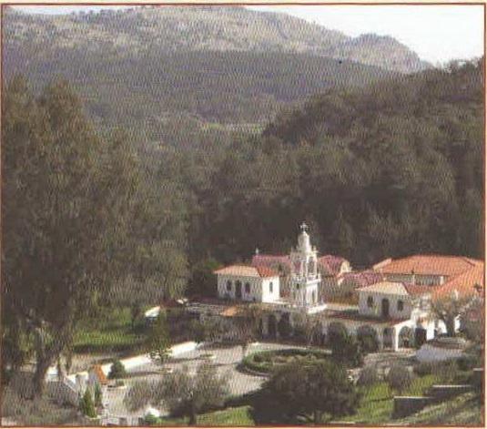 Rhodes - Ιερά Μονή Υψενής