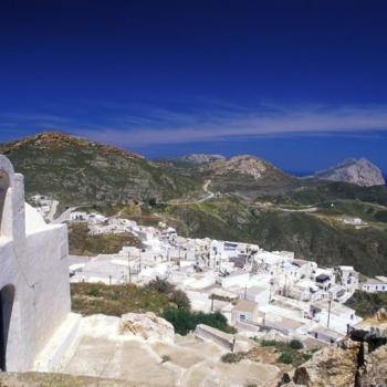 Church, Kastro, ChoraAnafi, Cyclades, Greece, Europe©Clairy Moustafellou /IML