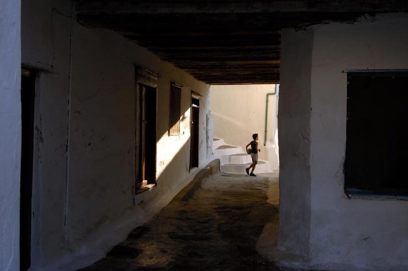 Chora.Kea island. Cyclades county. Greece. Europe.George Detsis. 09/2005.