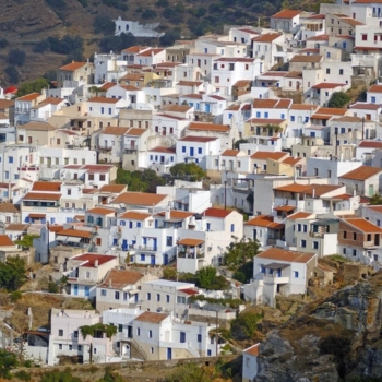 Chora. Cyclades county. Kea island. Greece. Europe. George Detsis. 09/2005.