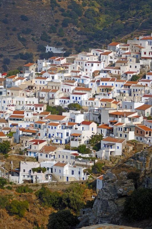 Chora.Cyclades county. Kea island. Greece. Europe.George Detsis. 09/2005.