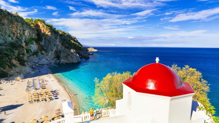 Karpathos island. Dodecanese