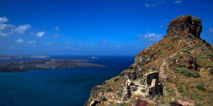Santorini - Τα Καστέλια