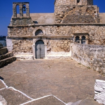 Cyclades, Kimolos Hora, Kastro, Chrisostomou church