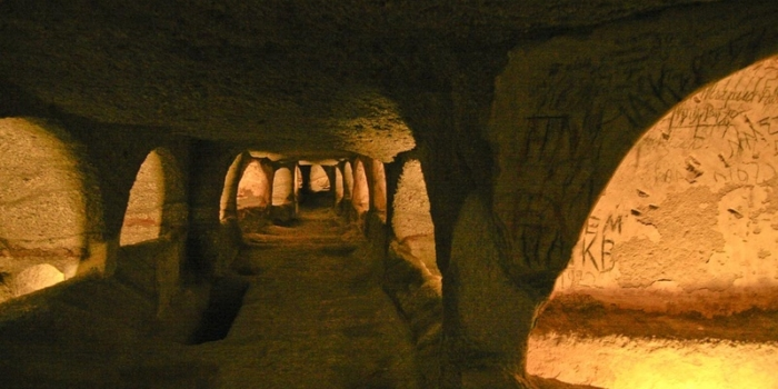 Milos - The Early-Christian catacombs