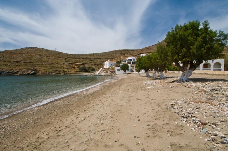 Europe, Greece, Cyclades, Kythnos, beach, Lefkes