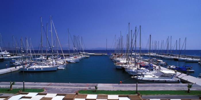 Kos Town, marina Kos, Dodecanese, Greece ©Clairy Moustafellou/IML Image Group
