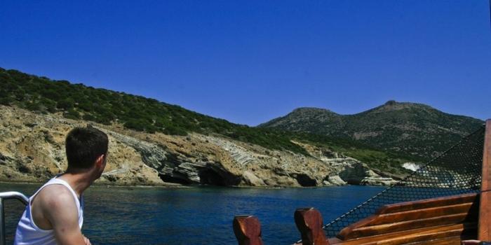 Milos - By boat