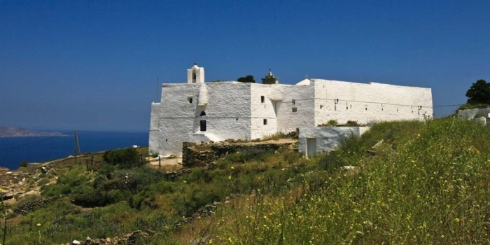 Serifos - The monastery of Taxiarches