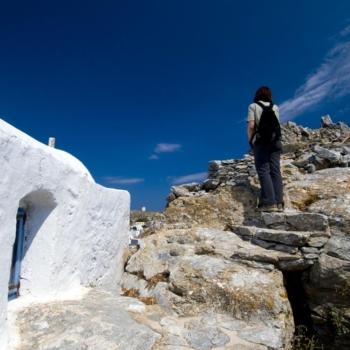 Amorgos - Χώρα-Μονή Χοζοβιώτισσας