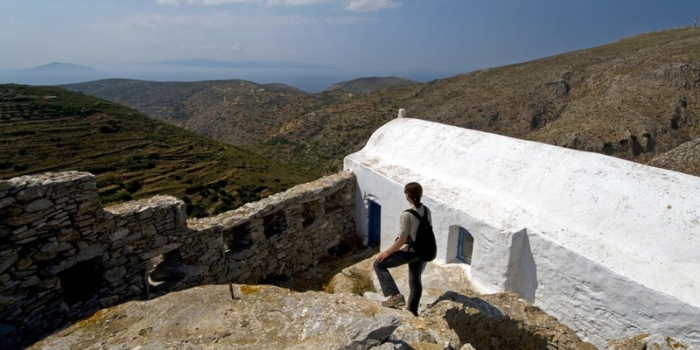 Amorgos - The ancient street