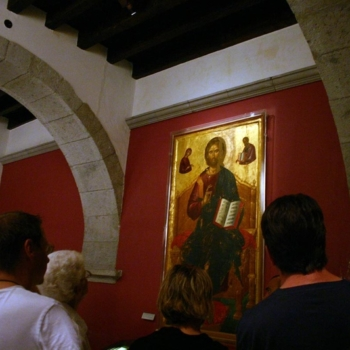 Patmos - The vestry-museum of the monastery of Saint John the Theologian