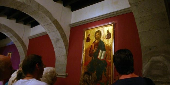 Patmos - Το σκευοφυλάκιο-μουσείο της μονής Ιωάννη του Θεολόγου