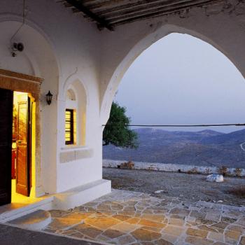 Folegandros - Panagia of Chora