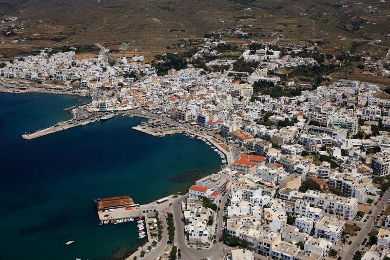 Tinos - The town of Tinos