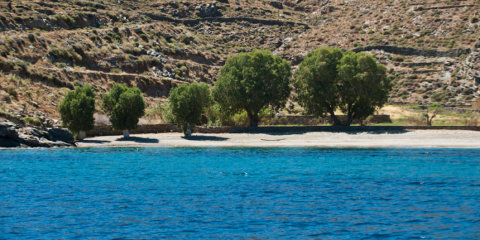Europe, Greece, Cyclades, Kythnos, beach, Potamia